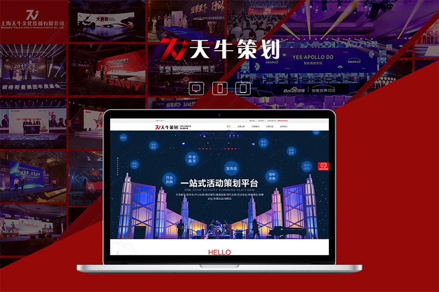 上海建设网站的价格是多少钱?